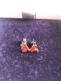 Agnes b earrings (brand new)