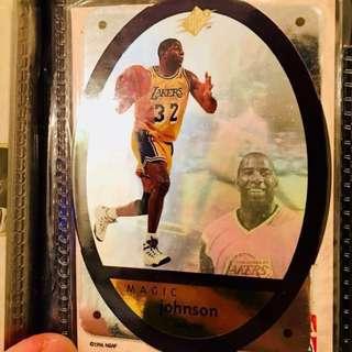 NBA Card Magic Johnson (4 pieces)