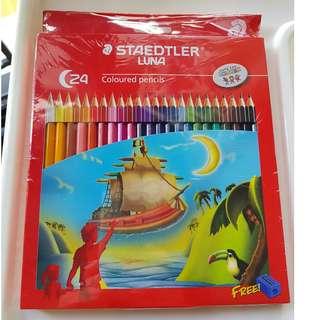 BNIP - Staedtler Luna Coloured Pencils 24'S