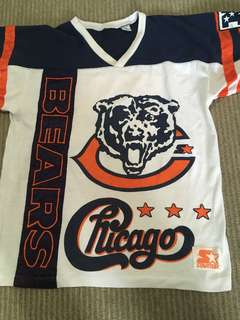 Vintage chicago bears jersey
