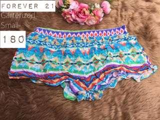Forever 21 Boho Cotton Shorts