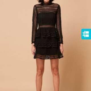 Bisou Bisou Store Little Black Lace Dress