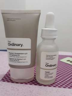 The Ordinary Vitamin C Suspension and Buffet