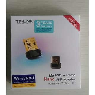 Archer T1U  AC450 Wireless Nano USB Adapter