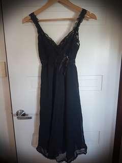 SJ Lingerie Black Dress