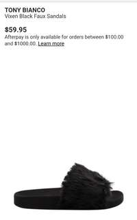 [NEW] Tony Bianco Fur Slides