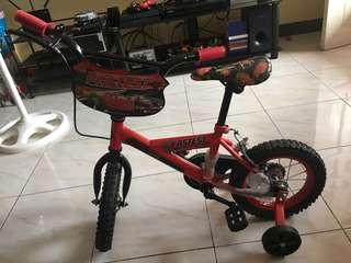 CARS Kiddie Bike (Red)