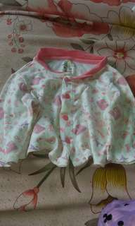 6pcs tops for baby 0-3 months take all