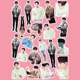 🚚 EXO 張藝興 個人貼紙 偶像練習生 皮紋防水貼紙