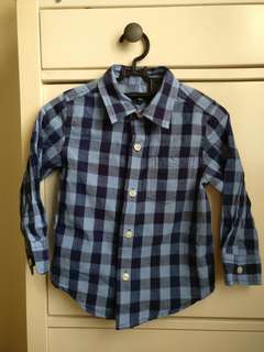 BabyGap Long Sleeves Shirt for 2-3 years old