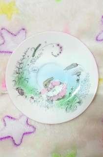 Mrs.Rabbit fine bone china plate