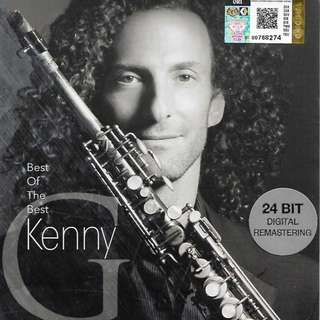 KENNY G Best of The Best 24 Bit Digital Mastering 2CD