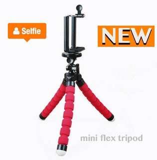 mini tripod (with phone holder)