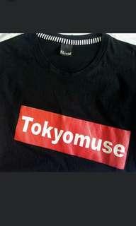 Black T shirt (Tokyomuse)