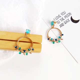 (PO) Layla Floral Crystalite Earrings