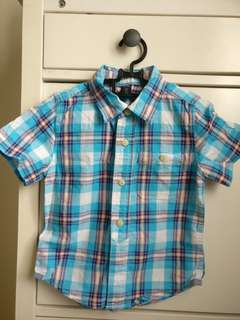 BabyGap Short Sleeve Shirt for 3-4 years old