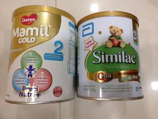 Baby formula stage 2 and 3