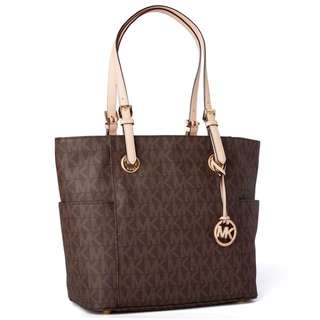 Authentic Michael Kors Jet Set Signature Tote
