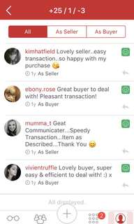 Please excuse false allegations and refer to my actual buyers and sellers