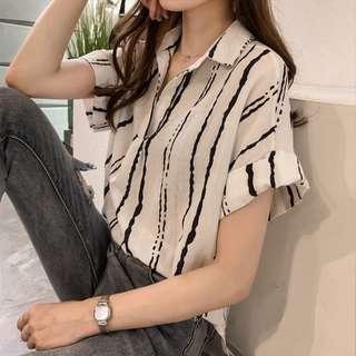 Light Short Sleeve Blouse | Plus-size M-4XL | Big Girls