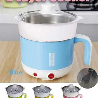 2 layer electric cooker