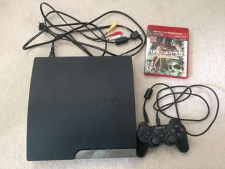 PS3 + Controller + 1 Game
