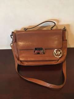 Michael kors brown soft leather bag