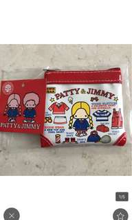 Sanrio patty and jimmy coins bag 錢包 散子包