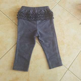 Old Navy Leggings 12-18m baby jeggings jeans pants 1y 9m 2t toddlers kids denim blue