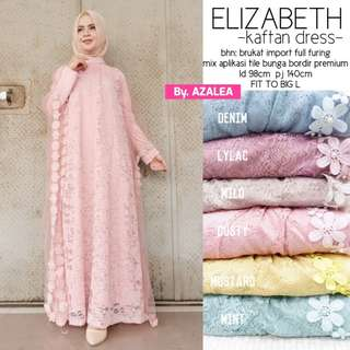 Elizabeth kaftan dress