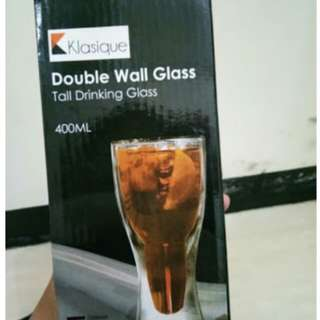Klasique double wall glass
