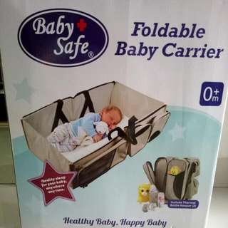 Foldable Baby Carrier 0m + Baby Safe