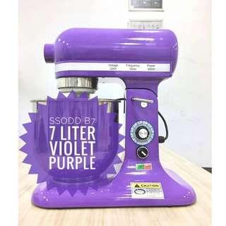 B7 Heavy Duty Stand Mixer Violet SSODD
