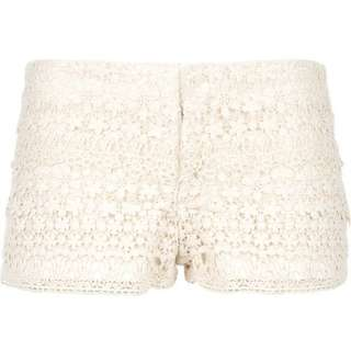 Ralph Lauren Denim and Supply White Lace Shorts
