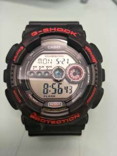G shock gd-100 come with box no more why condition 95% new $189