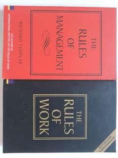 Richard Templar - Rules of Management / Work