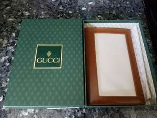 Gucci Passport Holder 証件套 Price sold will be for Donation