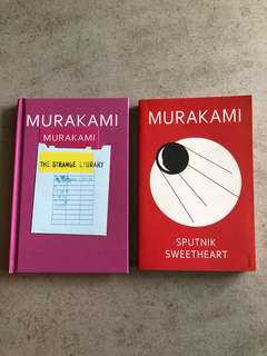 Haruki Murakami, The Stange Library and Sputnik Sweetheart