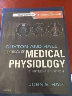 Guyton and Hall Medical Physiology 13thEd