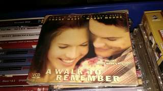 A Walk To Remember VCD