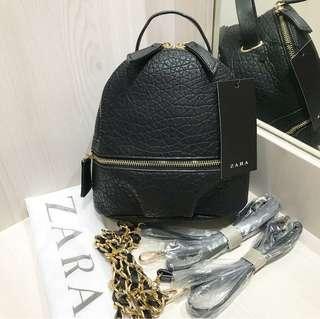 Zara backpack polos original