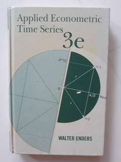 Walter Enders - Applied Econometric Time Series