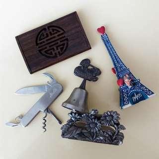 🚚 居家公司桌上飾品用品工具共5件
