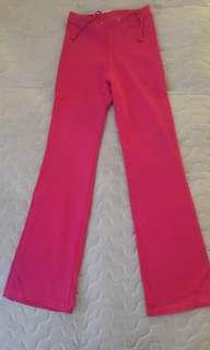 Celana Senam Pink