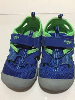 Oshkosh shoes blue and green