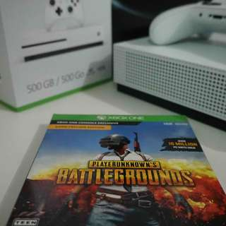 Xbox One S 500gb with Games and Xbox Live Gold for 1 year