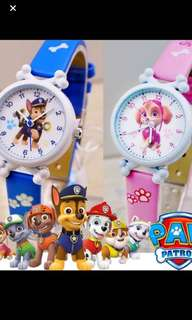 Instock Paw Patrol kids watch Brand New Suitable For 3-12yrs old 5design Available