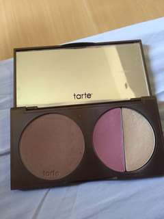 Tarte park ave princess bronzer blush and highlighter RUSH