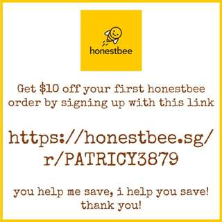 Get $10 off your first honestbee order! | Grocery | Laundry | Food