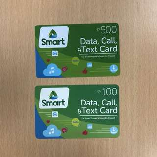 SMART Prepaid Load P600 for P450
